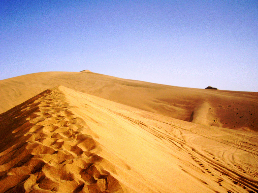中国塔克拉玛干沙漠