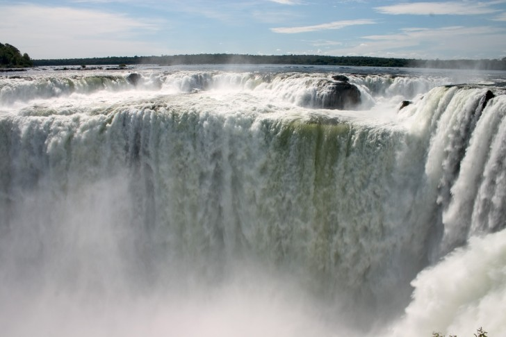 Devil Throat - Iguazu Falls, Argentina and Brazil