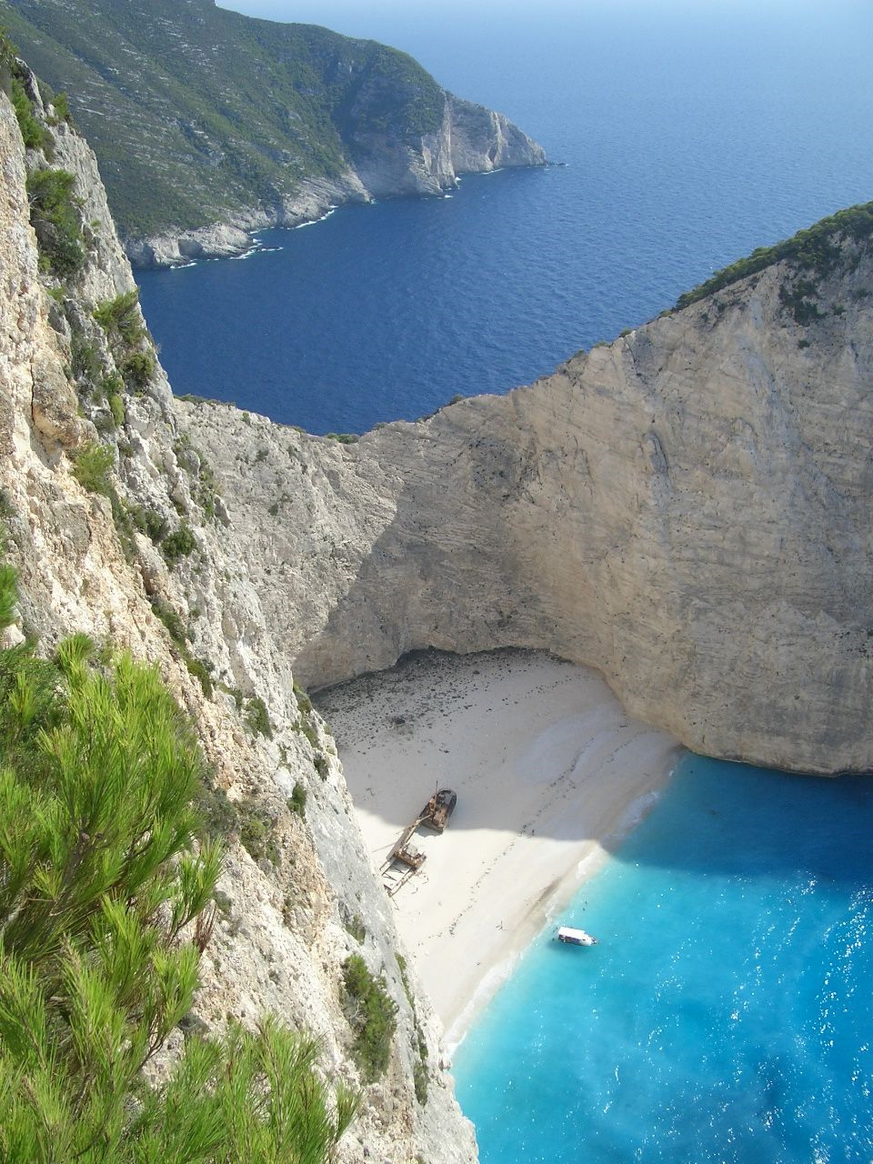 Navagio Beach, Zakynthos, Greece - Beautiful Places to ...