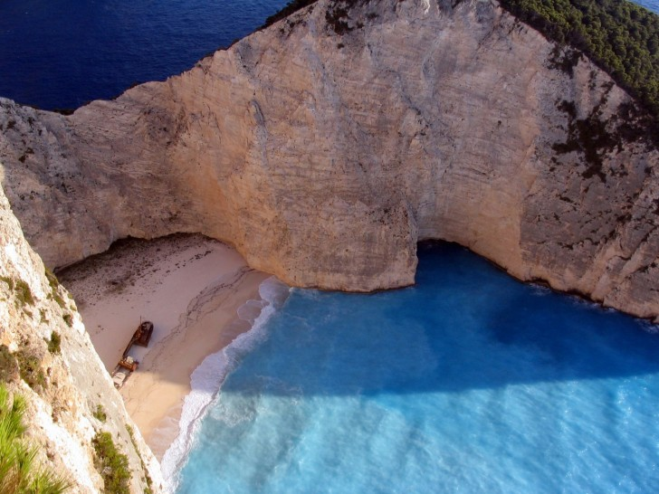 Navagio Beach, Zakynthos, Greece