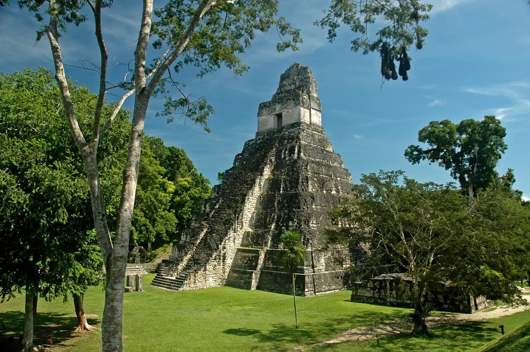 Tikal Guatemala Tikal Guatemala Temple 1