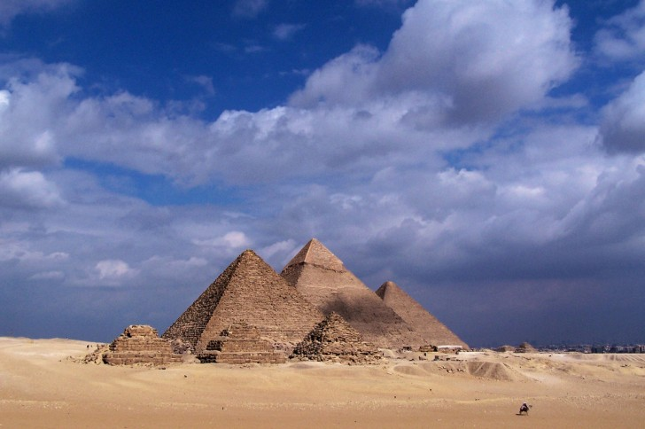 Giza Pyramids, Egypt