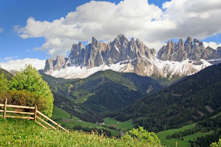Geislergruppe, Dolomites, Italy
