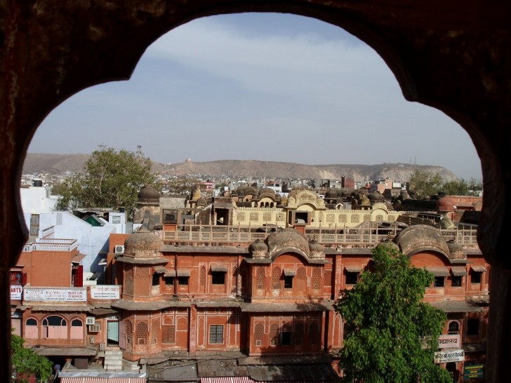 View from Palace of Winds, Jaipur, Rajasthan, India