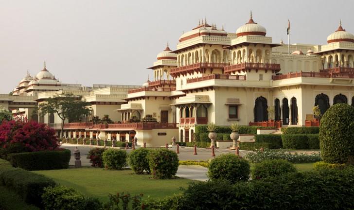 Rambagh Palace, Jaipur, Rajasthan, India