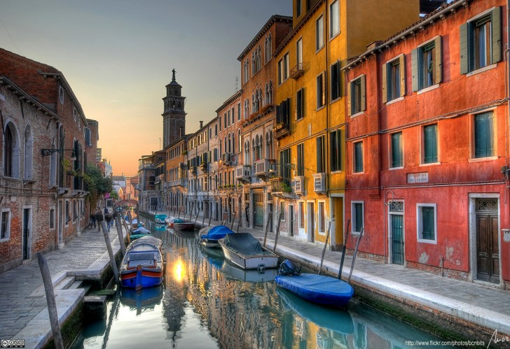Rio di San Barnaba - Venice, Italy