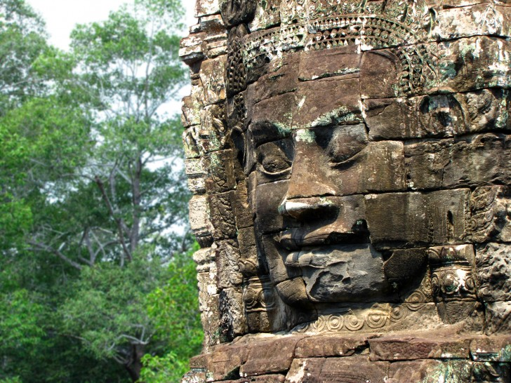 Bayon, Angkor Wat, Cambodia