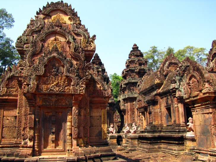 Banteay Srey, Angkor Wat, Cambodia