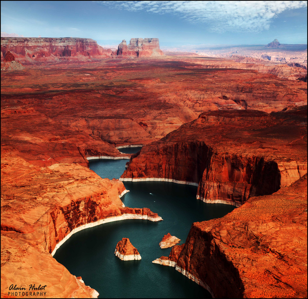 Lake Powell Utah And Arizona United States