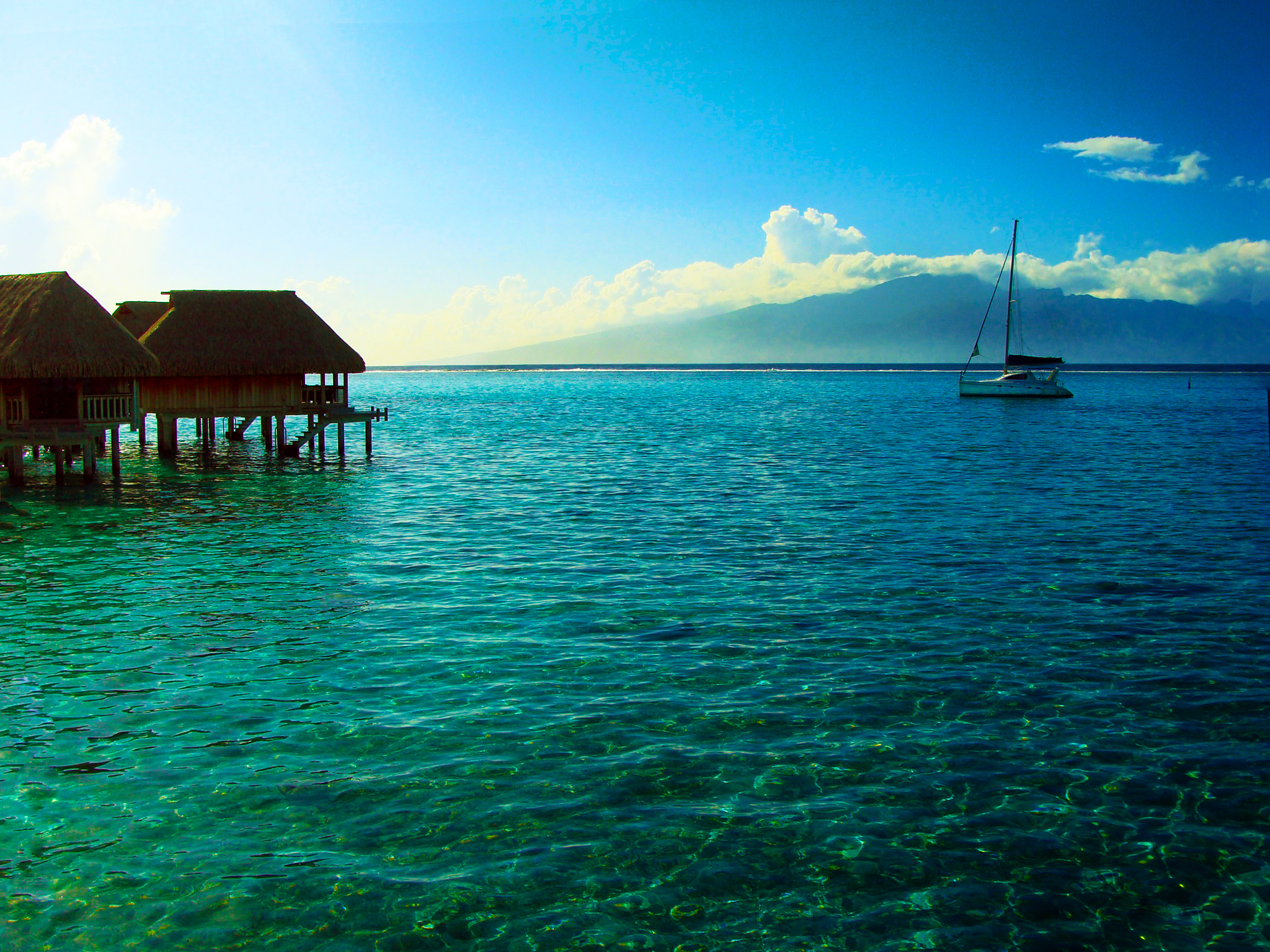 Moorea Island French Polynesia  City pictures : tropical island | Beautiful Places to Visit