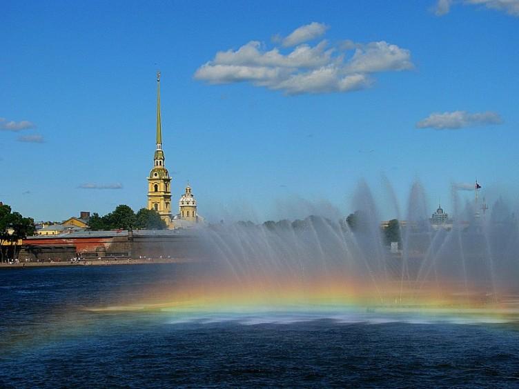 Neva, San Petersburgo, Rusia