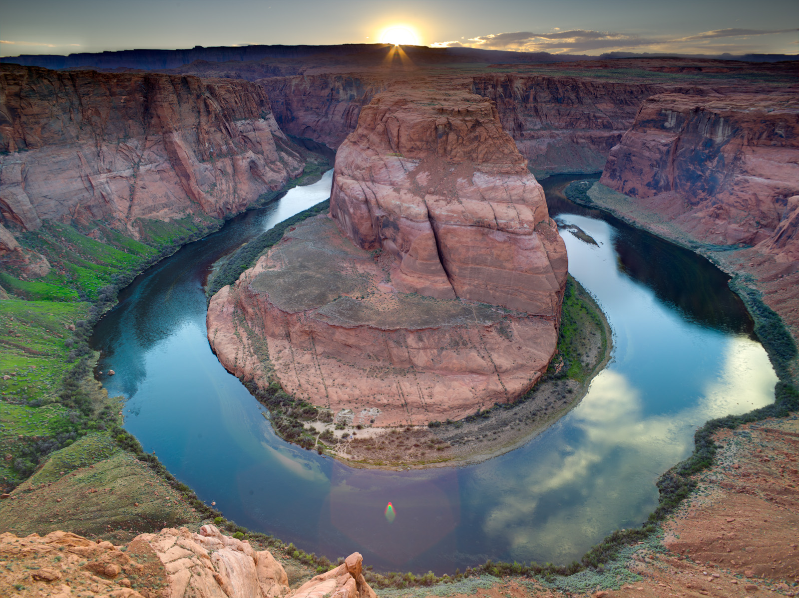 Horseshoe Bend, Colorado River, Arizona, USA | Beautiful ...