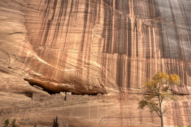 Anasazi Ruins, Canyon de Chelly, Arizona