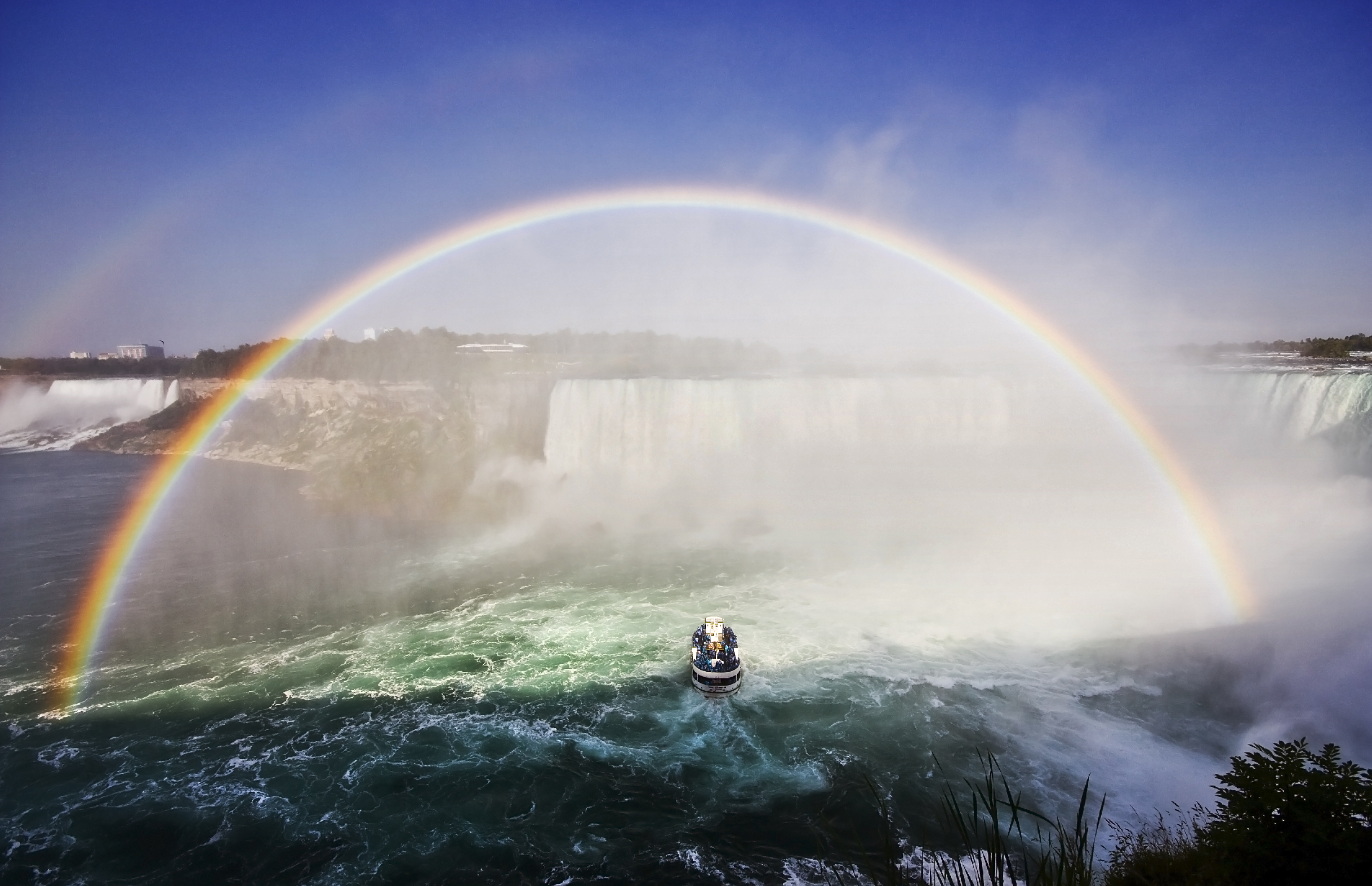 Niagara Falls (ON) Canada  city pictures gallery : Niagara Falls, Ontario, Canada, and New York, USA | Beautiful Places ...