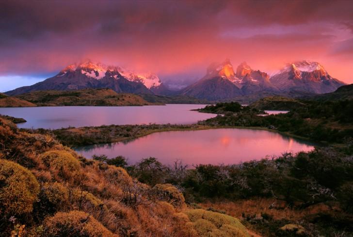 Cordillera del Paine, Patagonia, Chile