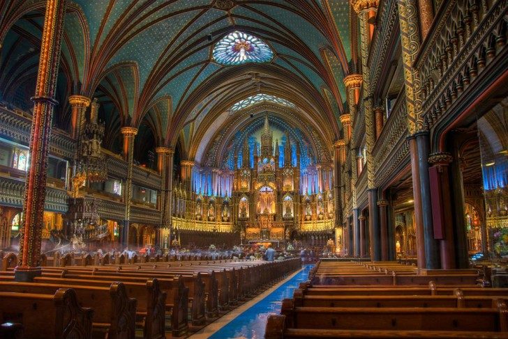 Notre Dame Basilica, Montreal, Quebec, Canada