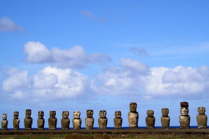 Moai Statues, Easter Island